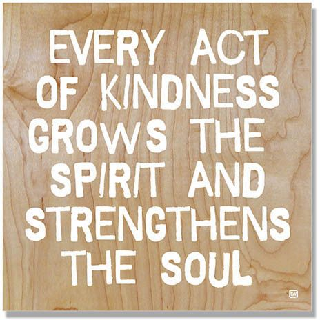 Acts Of Kindness Aren'tRandom