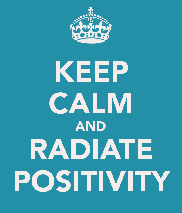 Accentuate The Positive …