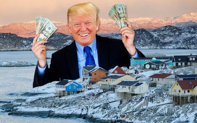 Lest We Forget, The President Offered To Buy Greenland When the Puerto Rico Swap Seemed Unlikely