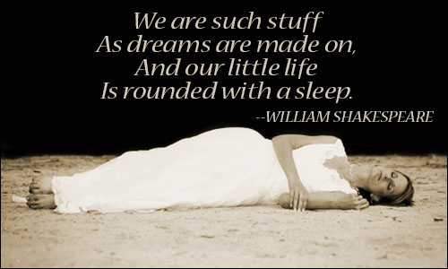 Alive and unconscious … who doesn't lovesleep?